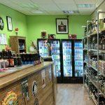 Inside Otter's Tears bottle shop