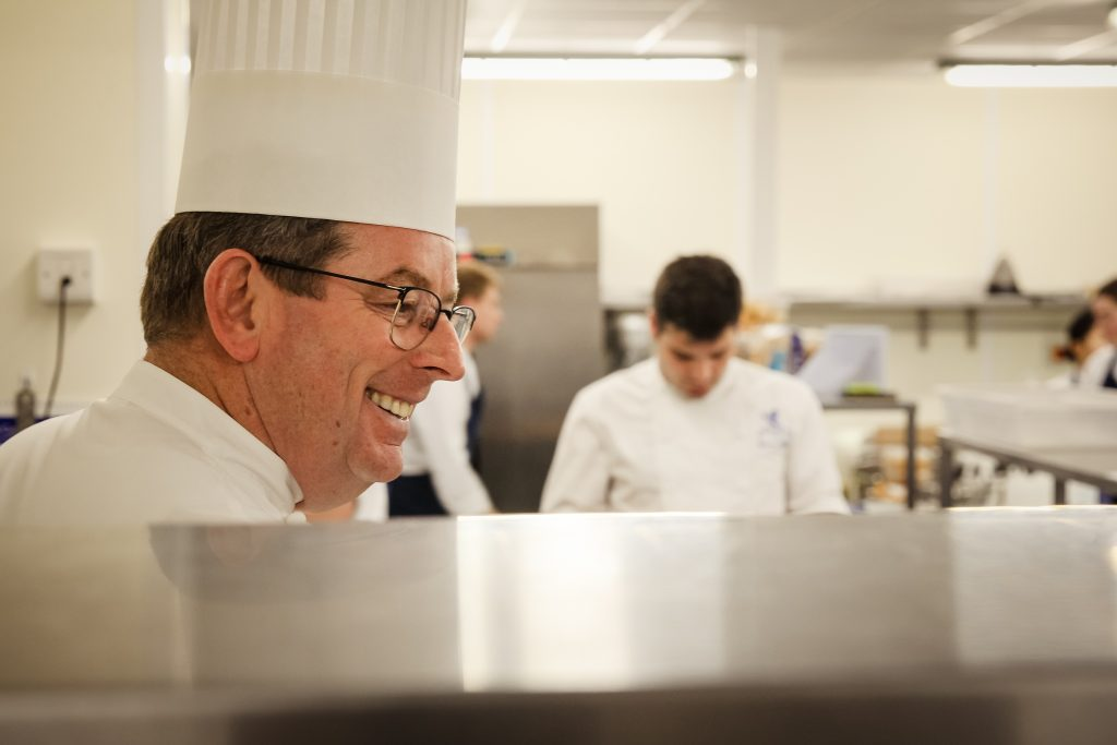 Chef John Williams MBE