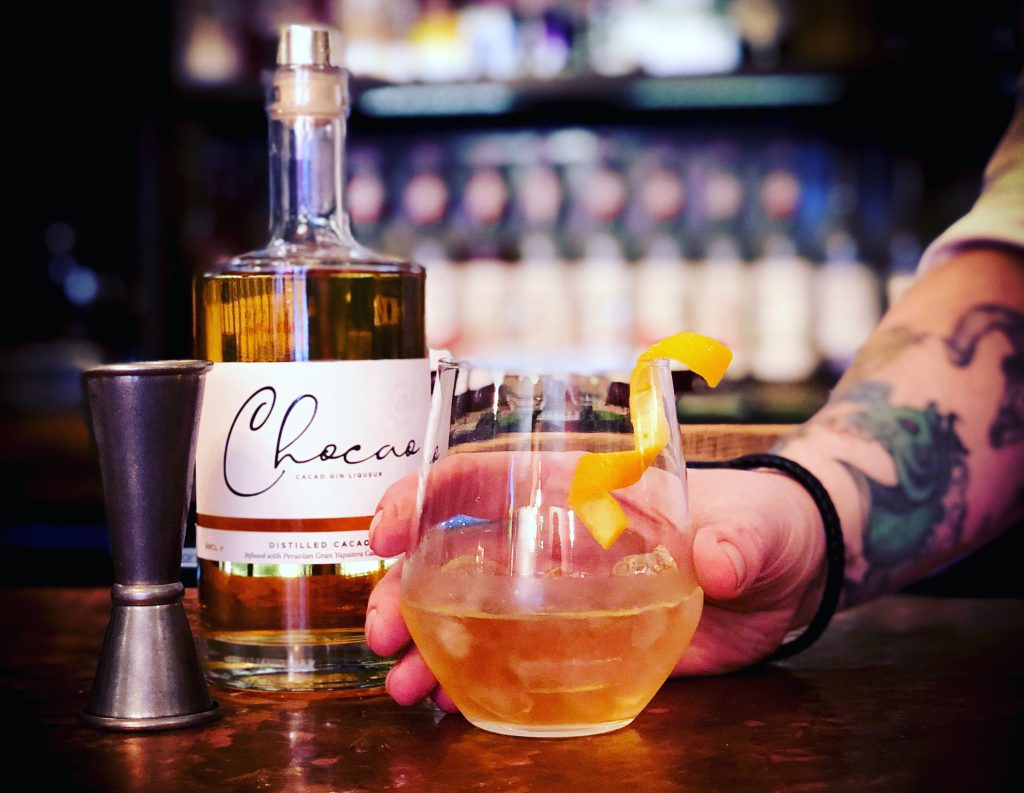 Chocao Old Fashioned cocktail