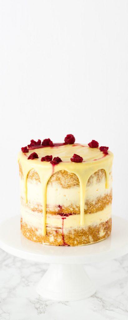 Beth Lauren white choc cake