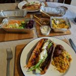 Lamb and falafel from Gallaghers Home Kitchen